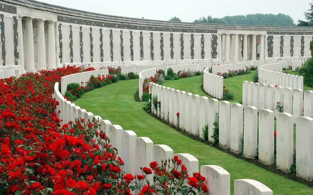 WWII Battlefield Cemitery