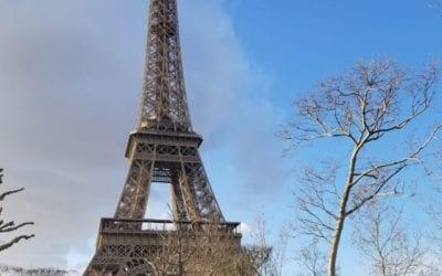 Sunny skies in Paris